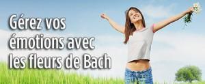 gérer vos émotions avec les fleurs de Bach
