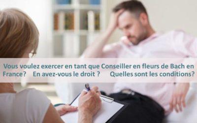 Exercer le métier de Conseiller Fleurs de Bach en France