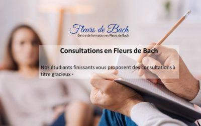 Opération Consultations Gratuites en Fleurs de Bach
