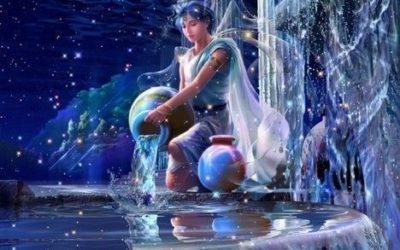 Water Violet et le signe du mois : le Verseau